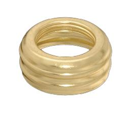Solid Brass #00 Nutmeg Collar