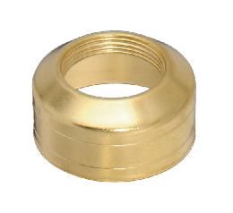 #1 Solid Brass, Double Ring Collar