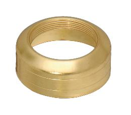 #2 Solid Brass, Double Ring Collar