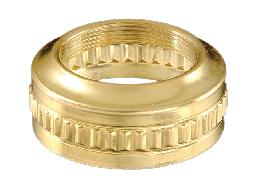 "#2 Solid Brass ""Fluted Band"" Collar"