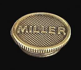 "Solid Brass ""Miller"" Filler Cap"