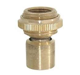 "Brass Hang-Straight Swivel, Seats 7/8"" Hole"