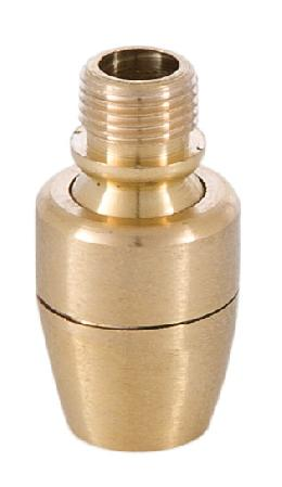 1 3/8 Inch Brass Swivel