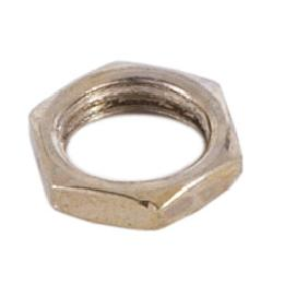 1/2 Inch Thick Steel Hex Nut 1/8IPS