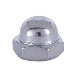 Nickel Cap Nut 8/32