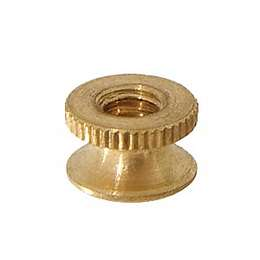 "Brass Battery Nut, 5/16"" dia."
