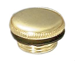Brass Filler Plug designed to fit Antique Aladdin Brand Metal Lamps