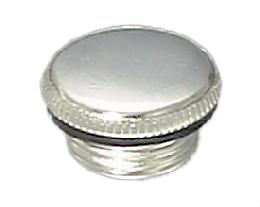 Nickel Plated Aladdin Brand Filler Plug