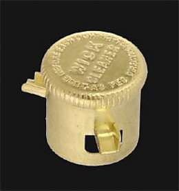 Brass Wick Cleaner designed to fit Aladdin Brand Burner.
