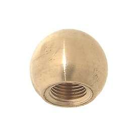 Turned Brass, Ball Finial