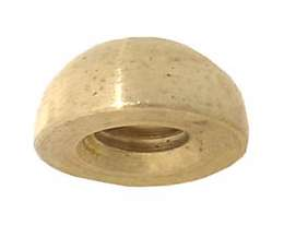 "1/2"" Brass Ball Finial"