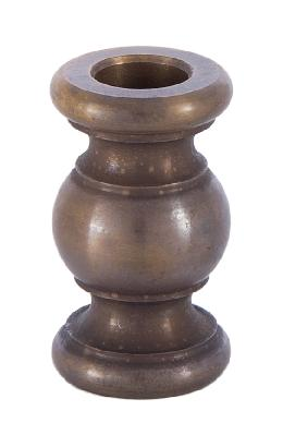 1 1/2 Inch Antique  Brass Spindle