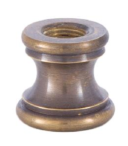 15/16 Inch Tapped Antique Brass Neck