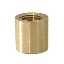 "3/4"" ht., Heavy Brass Coupling, 1/4F"