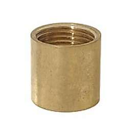 "3/4"" ht., Heavy Brass Coupling, 3/8F"