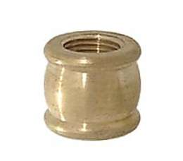 "1/8F Brass Coupling, 9/16"" ht."