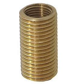 "1"" Long X 1/4M X 1/8F Brass Reducer"