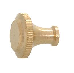 "Solid Brass Knurled Key, 5/8"" Long"