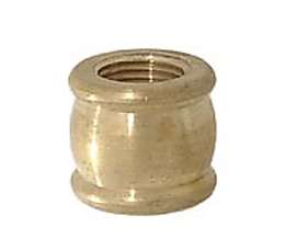 "Brass Coupling, 9/16"" ht."