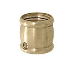 "Brass Slip Coupling, 5/8"" ht."