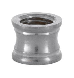 Nickel Plated Coupling, 1/4F X 1/8F