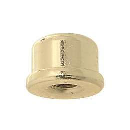 "9/16"" ht., Brass Plated Finial"