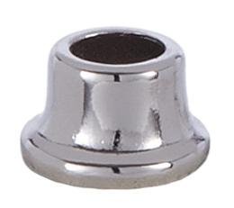 1/2 Inch Stamped Steel Nut in Nickel