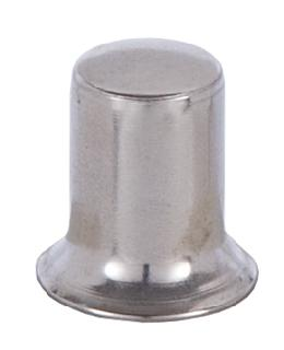 Stamped Nickel Finish Lamp Finial