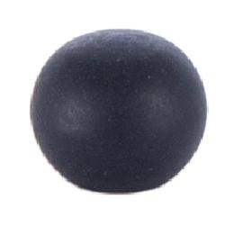 3/8 Inch Tapped Black Ball