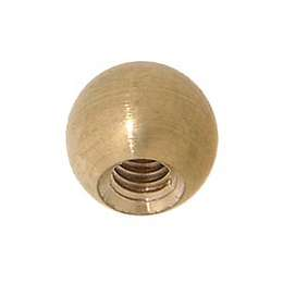 "3/8"" dia., Brass Ball, Tap 8/32F"