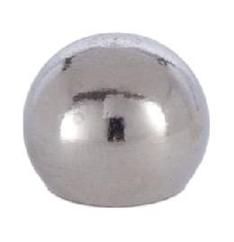 5/8 Inch Tapped Nickel Ball