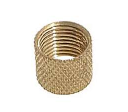 Knurled Brass Coupling, 1/8F