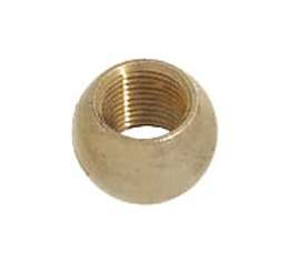 "7/16"" ht., Brass Ball Coupling, 1/8F"