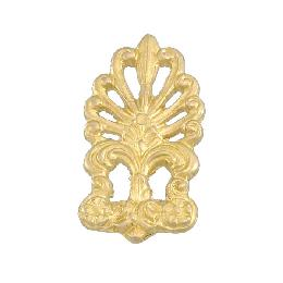 "2 1/4"" X 1 1/4"" Cast Brass Ornament"