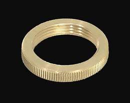 "1 1/4"" O.D.  Brass Screw Collar"