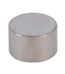 3/8 Inch Thick Flat Nickel Cap 1/8 Tap