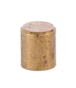 9/32 Inch Nickel Height Cylinder Knob 8-32 Tap