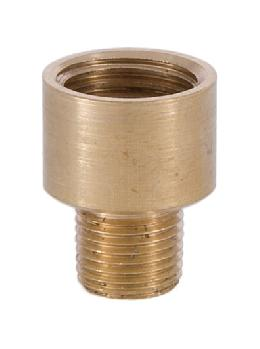 13/16 Inch Brass Straight Nozzle 1/4 to 1/8 thread