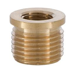 1/2 to 1/4 Brass Shoulder Reducer