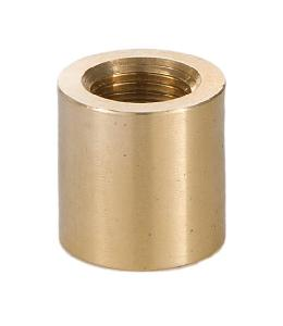 "Brass Lamp Coupling, 5/8"" Ht., 1/8F x 1/8F"