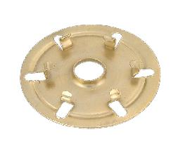 Brass finish UNO to washer adapter