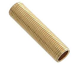 1/8 IP Solid Brass, All Thread Nipples/Pipe