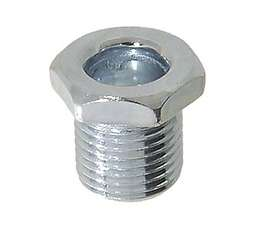 Steel Hex Nipple