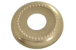 "1 1/8"" Stamped Brass Check Ring"