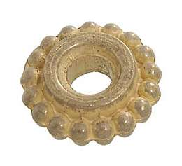 "Cast Brass ""Beaded"" Seating Ring for 7/8"" Tube"
