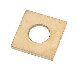 "3/4"" Square Brass Seating Ring"