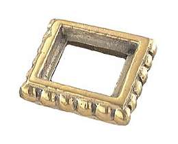 "7/8"" Square Brass Seating Ring"