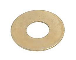 1/8 IP Slip, Brass Plated Washers
