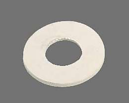 White Rubber Washers