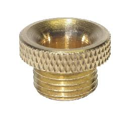Wide Brass Cord Bushing - 1/8M